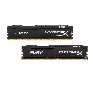KINGSTON 2x16GB HX424C15FBK2/32 Fury Black