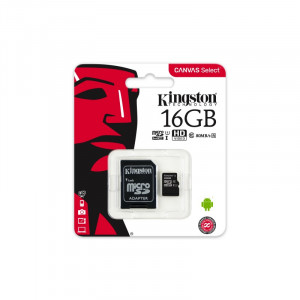 KINGSTON MicroSDHC 80R SDCS/16GB