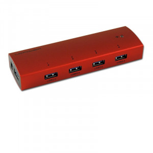 LC POWER LC-HUB-EX4R-ALU USB 3.0 Hub