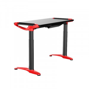 SPAWN Devana E3 Adjustable Desk Black/Red