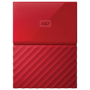 WD My Passport 3TB WDBYFT0030BRD Red